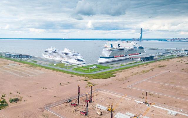 В Петербурге Glorax Group построит 450 тысяч кв. метров на намыве Васильевского острова