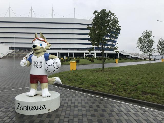 В Калининграде снесли дачи рядом с будущим стадионом ЧМ-2018