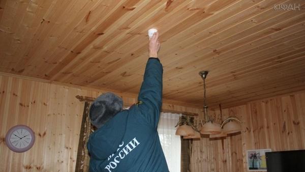 В Якутии пожарные сигнализации появятся в домах малоимущих