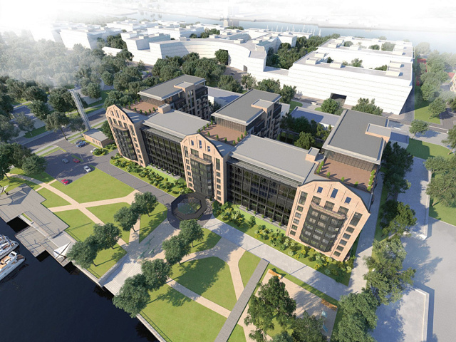 В Петербурге, на Петровском острове, построят элитные апартаменты