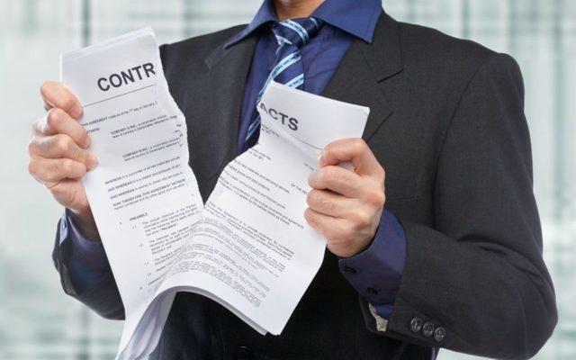 Дольщики, возможно, смогут без суда расторгать договор с застройщиком-банкротом