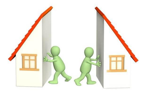 Как разделить участок ИЖС на двоих и построить два дома?