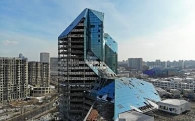 Каждый пятый долгострой Москвы находится в центре города
