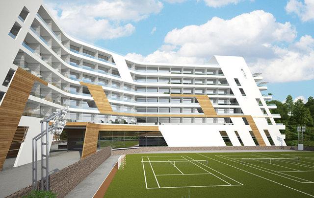 В Ялте ГК КСК построит жилье и спортивный центр