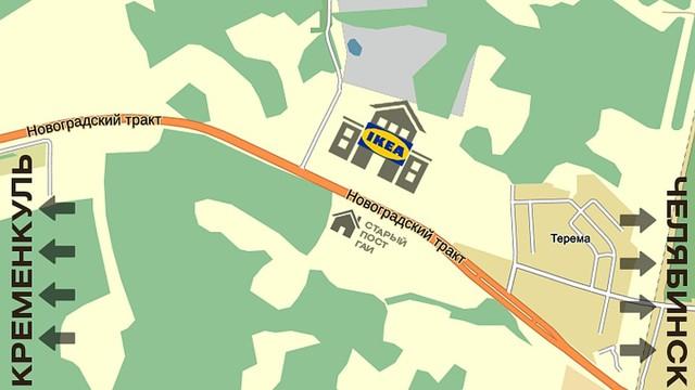 В Челябинске в 2020 году откроют магазин IKEA