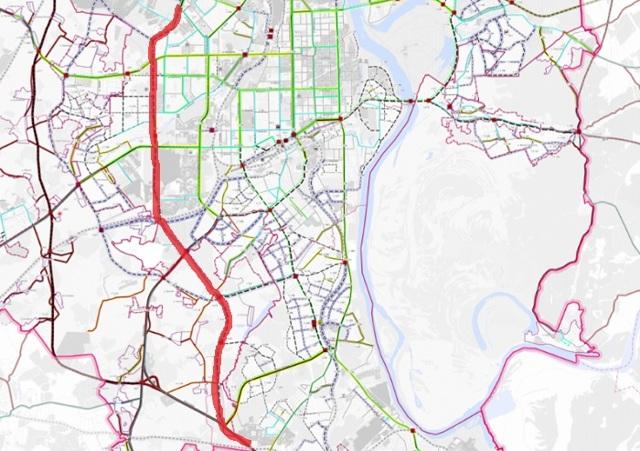 В Кирове хотят построить объездную дорогу за 16 млрд рублей