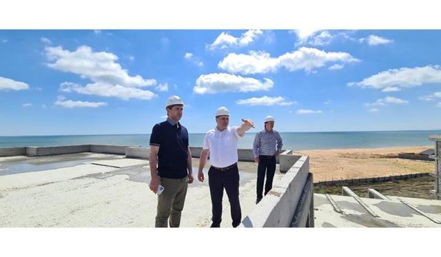 В Дагестане стартовала большая стройка на побережье