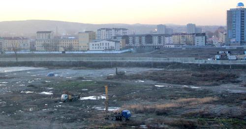 В Грозном начали строить самое высокое здание в Европе