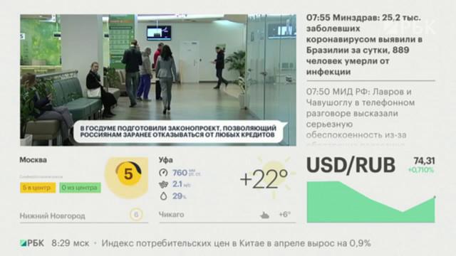 Госдума собирается принять закон об электронном кредитовании