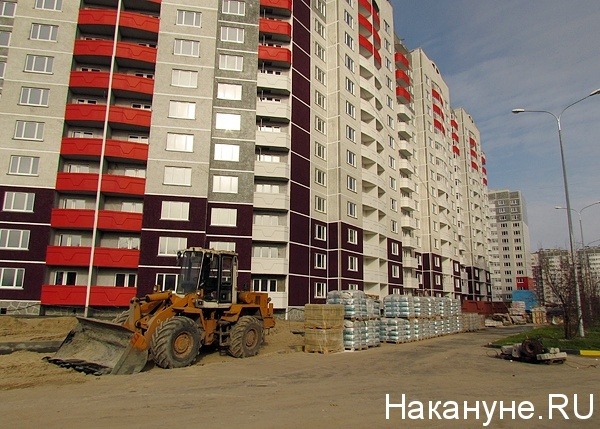 Объемы жилищного строительства растут только в Центральной России