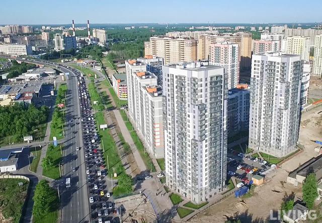 В половине новостроек Петербурга качество жилой среды ниже среднего