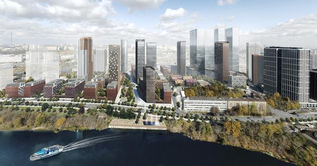 В Москве реконструируют 31 промзону