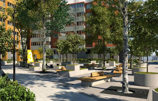 В Батайске построят жилой квартал с 50 000 кв. м квартир