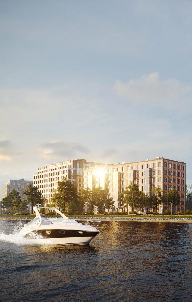 На Крестовском острове в Петербурге построят элитное жилье