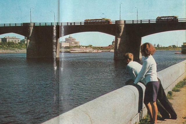 В Тверской области реконструируют мост через Волгу