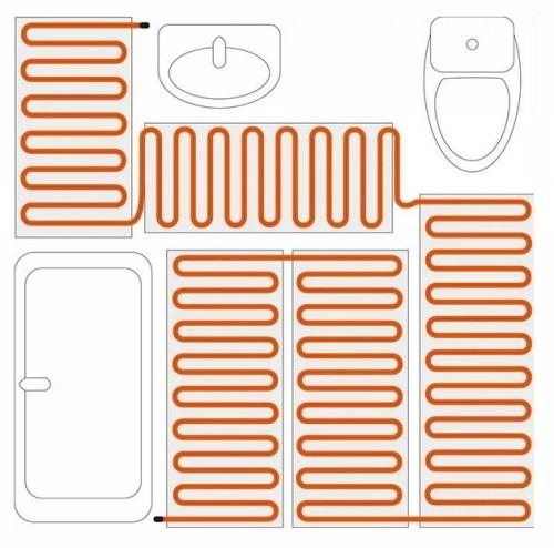 Электрический теплый пол: гид по укладке