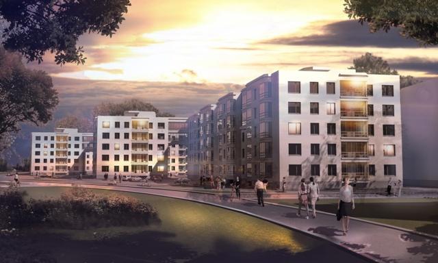 В Петергофе построят малоэтажный жилой комплекс