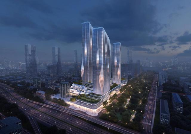 В Новой Москве построят жилой комплекс с МФК