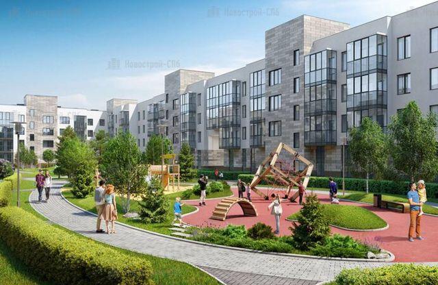 Квартиры бизнес-класса построят на юге Петербурга