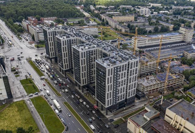 В кризис в Москве стали строить больше апартаментов