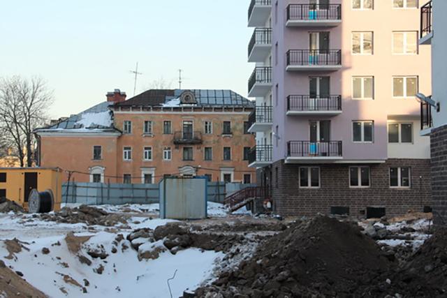 Дольщики комплекса «Охта-Модерн» в Петербурге не могут договориться с застройщиком