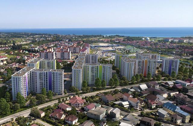 К 2019 году в Новороссийске появится новый элитный микрорайон