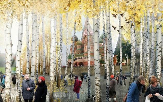Парк «Зарядье» в Москве откроется через 3 года