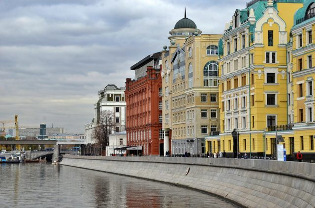 В Москве построят пешеходную зону от Якиманки до храма Христа Спасителя