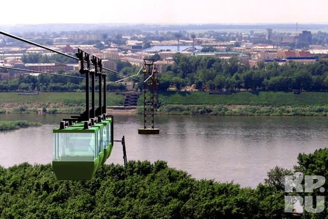 В Новосибирске хотят построить канатную дорогу