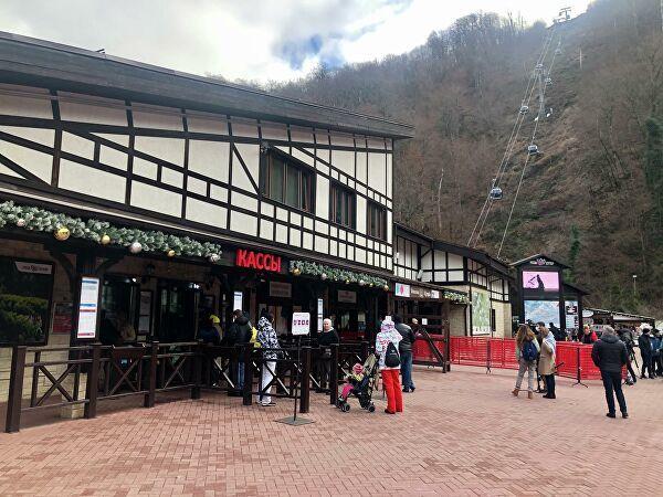 В горнолыжных отелях Сочи на Новый год забронированы почти все номера