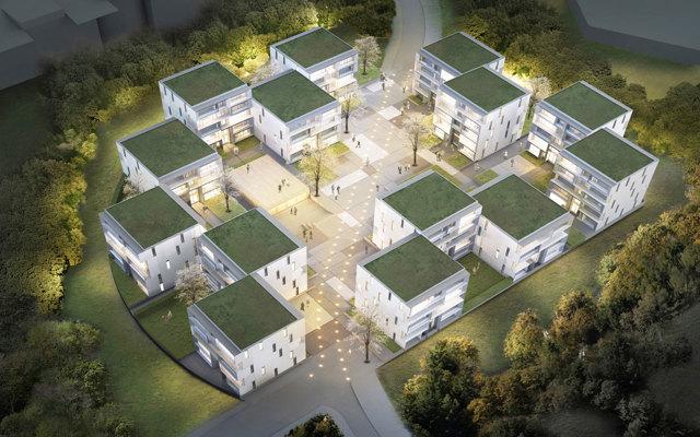 В Сколкове построят 7 новых жилых кварталов