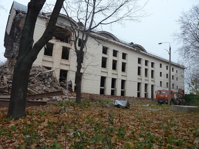 Заброшенные здания в центре Москвы перестроят в ЖК