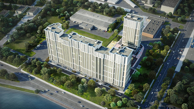 В Петербурге построят квартиры с видом на Неву