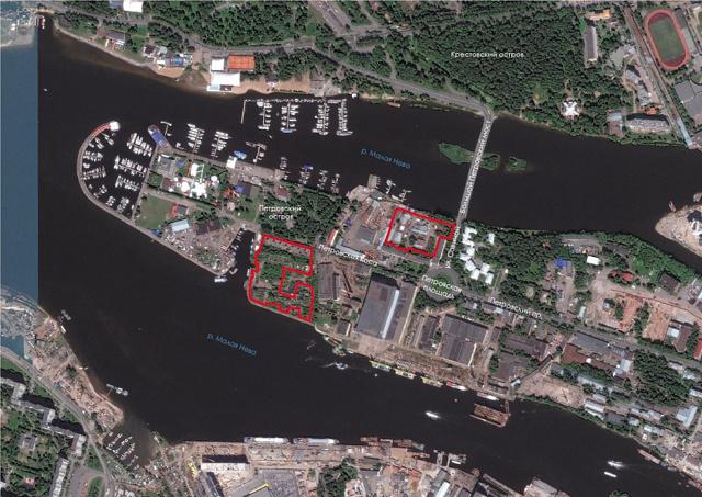 В Петербурге «Ленстройтрест» возведет еще два ЖК на Петровском острове
