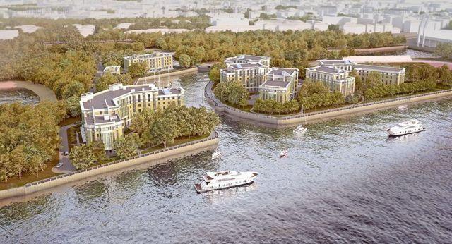 В Петербурге начинается большая стройка на Петровском острове