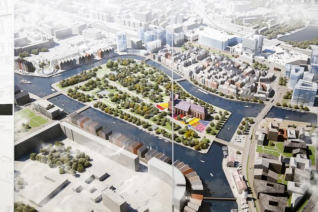 Центр Калининграда будут застраивать по проекту петербуржцев