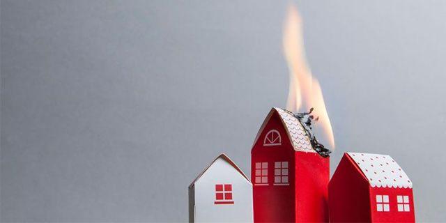 С пожарами связаны 40% выплат по страховке загородных домов