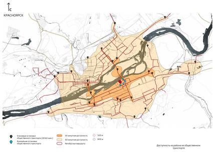 В Красноярске застроят жильем территорию возле нового моста