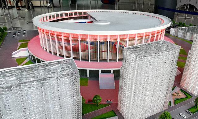 Клуб СКА построит новую хоккейную арену в Петербурге