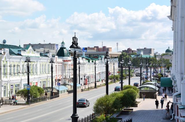 В Омске реконструируют один из главных проспектов