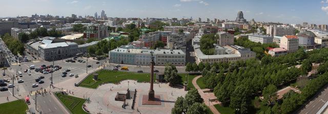 В Москве определили самые застроенные районы