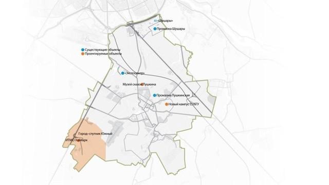 Генплан Южного, города-спутника Петербурга, больше не изменится