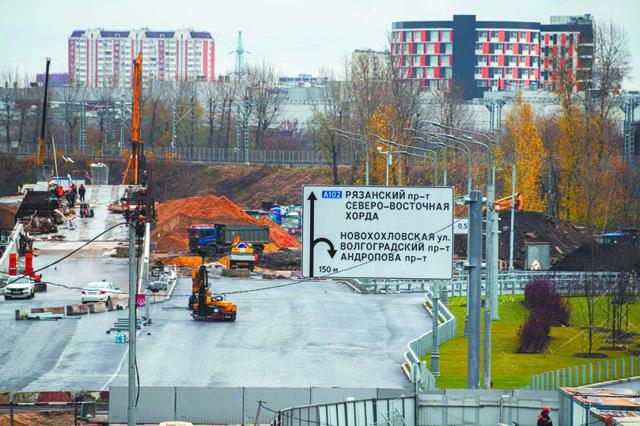 В Москве районы вокруг МКЖД обеспечат инфраструктурой