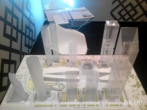 В Екатеринбурге построят 300-метровый небоскреб