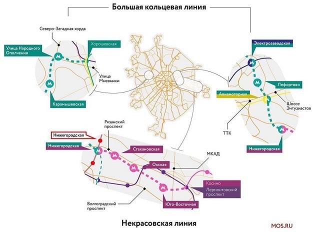 На западе Москвы 3 станции метро откроются до конца года