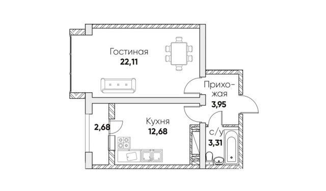 Студия или 1-комнатная квартира — что лучше?