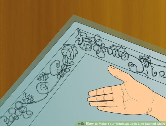 3 способа создать витраж своими руками