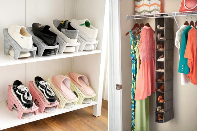 Как хранить зимой летнюю одежду, обувь, сумки?