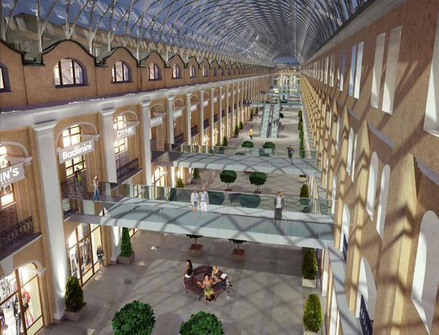 Реконструкция Гостиного двора в Петербурге стоит 15 млрд рублей