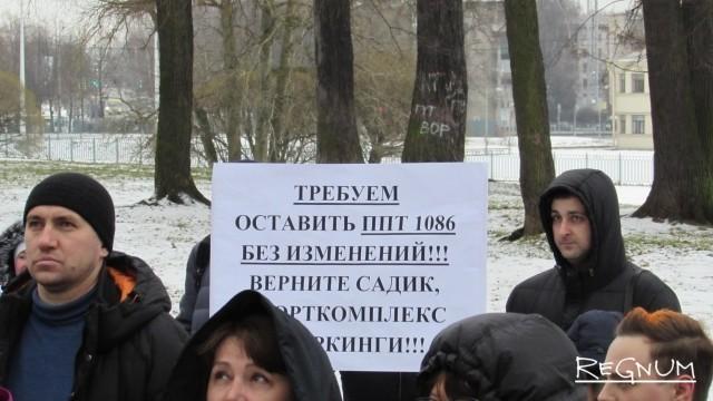 Высотность нового квартала под Петербургом уменьшили вдвое